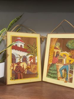 Vintage Mexican/Spanish Wall Art for Sale in Salt Lake City,  UT