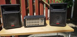 Create pro audio PA8FX PA and 2 Wharfedale monitor speakers for Sale in Seattle, WA