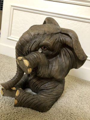 Large self standing ornamental elephant with teardrop for Sale in Salt Lake City, UT