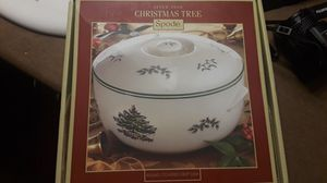 New Spode Christmas Tree Deep dish for Sale in Puyallup, WA