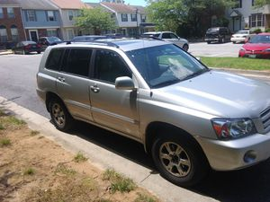 2006 Toyota highlander for Sale in MD, US