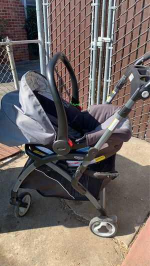 Graco Stroller with Car seat attachment for Sale in Santa Clara, CA