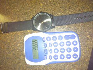 New watch and calculator for Sale in West Palm Beach, FL
