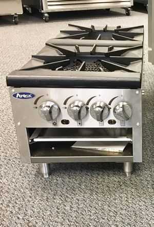 "Double burner stock pot stove-lower version ""Free Delivery!"" for Sale in Kent, WA"