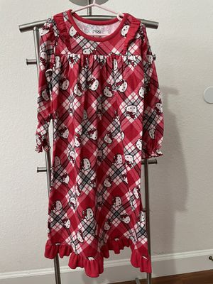 Hello Kitty Christmas nightgown XS(4/5T) for Sale in Miramar, FL