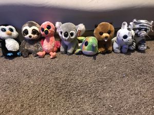 Beanie Boos little stuffed animals for Sale in Missoula, MT