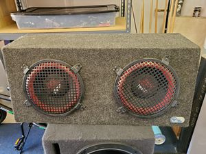 "10"" MTX ThunderPro 500 subs for Sale in Poway, CA"