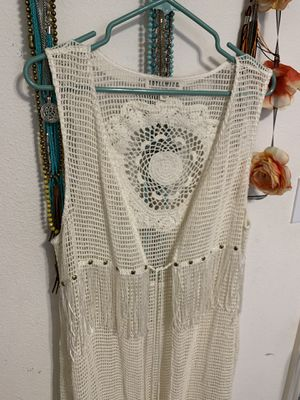 Miranda Lambert brand Idyllwind fringe duster vest for Sale in Merced, CA