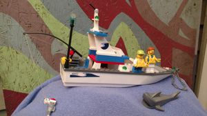 Lego fishing boat #4642 for Sale in Algonquin, IL
