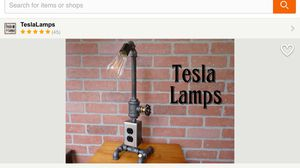 Tesla lamp for Sale in Manassas, VA