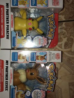 Pokemon Eve And Pikachu My Partner Motion And Sound Toys for Sale in Santa Ana,  CA