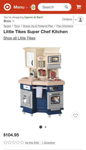 Kids Toy Play Kitchen - Little Tikes Super Chef Kitchen - Excellent & Clean Condition for Sale in La Habra, CA