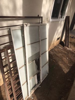 Free- Steel security bars and windows/scrap metal for Sale in Fresno, CA