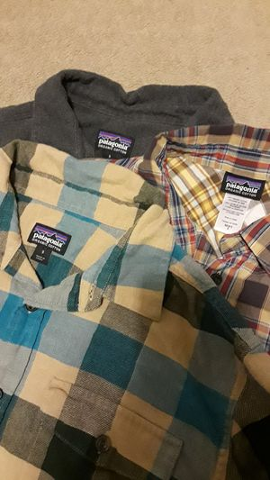 All 3 for $60! 3 great mens small Patagonia shirts for Sale in Tacoma, WA