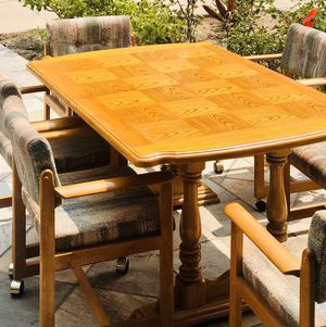 dining tables and 6 chairs, comfortable chairs, beautiful tables for Sale in Irvine, CA
