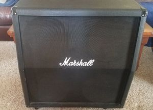 Marshall 4x12 speaker cabinet for Sale in Lake Stevens, WA