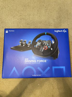 Logitech G29 Driving Force Racing Wheel Dual Motor Force Feedback - PS4 & PS3 for Sale in Roswell, GA