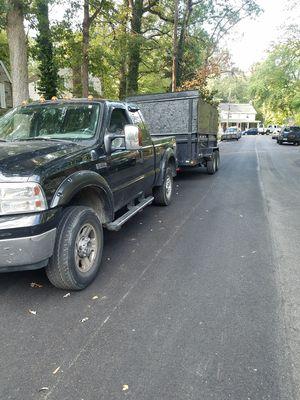 Troca f350 diesel y traila de 8x16 for Sale in Hyattsville, MD
