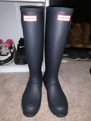 HUNTER rain boots for Sale in Rockville, MD