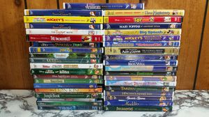 Pick 10 Disney dvds for $30 Aladdin bambi Peter Pan lion King tron and more for Sale in Seffner, FL