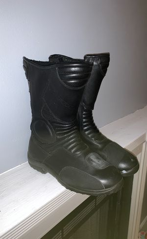 Gaerne Black Rose motorcycle boots size 8 for Sale in Alexandria, VA