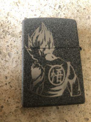 Custom etched zippo lighter goku dragon ball for Sale in Irvine, CA