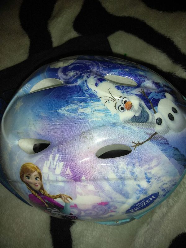 Princess Disney little girls bike helmet