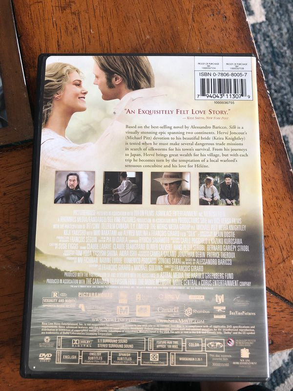 Silk DVD