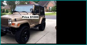 ֆ1OOO_1999 Jeep Wrengler for Sale in El Monte, CA