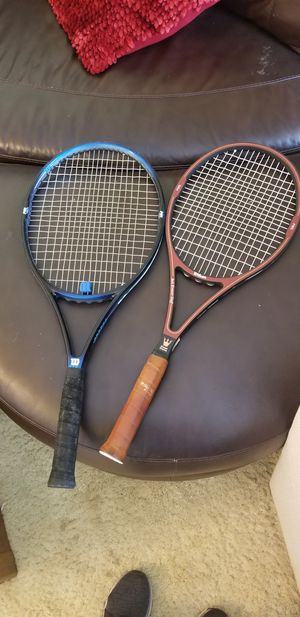 (2) Wilson Tennis Racquets for Sale in Hayward, CA