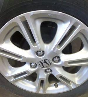 2010-2013 Honda Insight Alloy wheel plus center cap plus tires for Sale in Chillum, MD