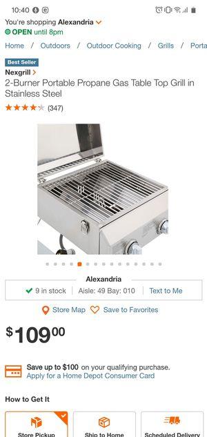 Portable Grill for Sale in Alexandria, VA