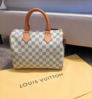 Louis Vuitton Damien Azur Speedy 25 Bag for Sale in Ontario, CA