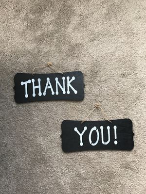 Thank you sign for Sale in Cleveland, OH