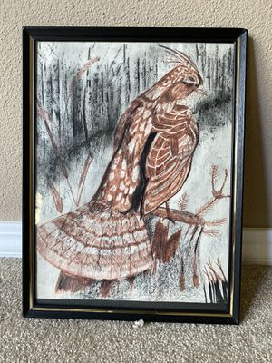 Grouse original drawing for Sale in Spokane, WA