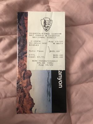National park pass for Sale in Torrance, CA