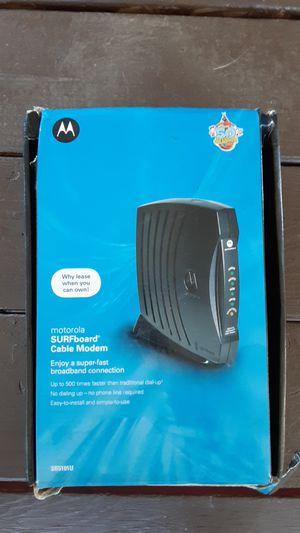 Motorola modem for Sale in Bakersfield, CA