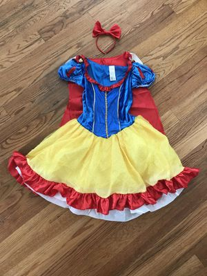Disney Classics Snow White Dress Costume Adult Size Small 4-6 Dress Up Halloween for Sale in Ontario, CA