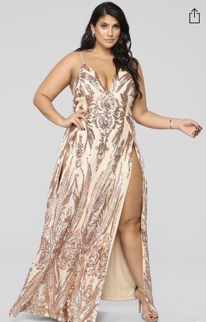 Rose gold dress for Sale in Mukilteo, WA