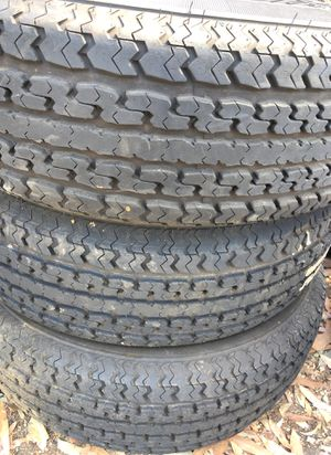 Trailer Tires 215 75 14 Lots of tread! for Sale in El Cajon, CA