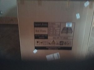 Twin Bed Frame ( black, metal, brand new) for Sale in Neillsville, WI