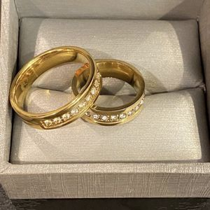 Unisex —18K Gold plated Matching Ring Set— Code SAN30 for Sale in Houston, TX