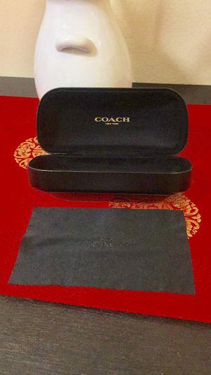 Coach black sun glass case for Sale in San Francisco, CA
