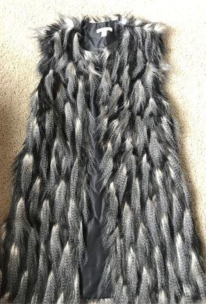 Faux Feather Women's Vest for Sale in Atlanta, GA