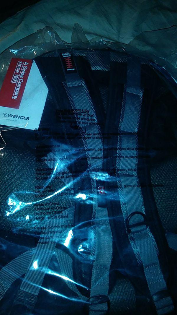 Swiss wenger backpack