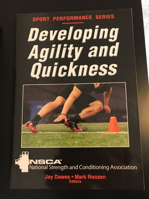 Human Kinetics - Developing Agility and Quickness by Jay Dawes for Sale in Apex, NC