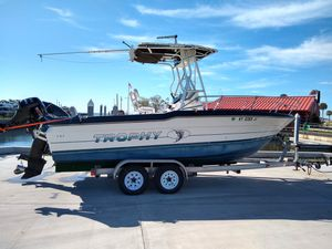 20' Bayliner Trophy 1991 Center Console Boat with 150 Mercury for Sale in Tampa, FL