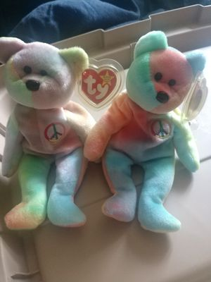 TY Peace Bear Beanie Baby for Sale in Galloway, OH