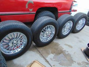 New 18x8.5 Chrome Rims & Used P 275 65 18 Michelin LTX AT Tires*DODGE* for Sale in Aurora, CO