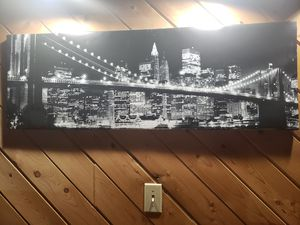 New York Photo, On Canvas for Sale in Bridgewater, ME